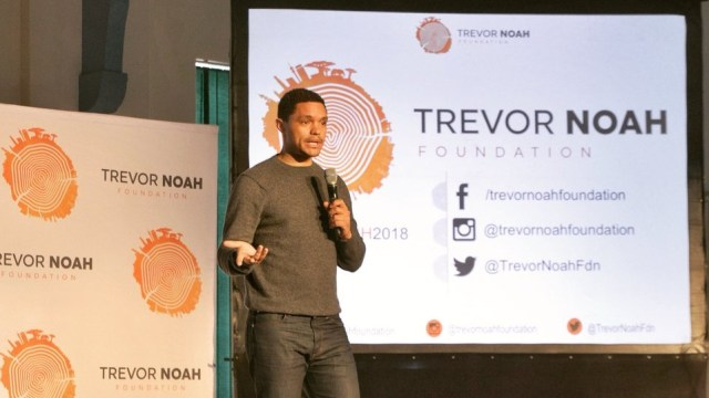 Microsoft partners with Trevor Noah Foundation