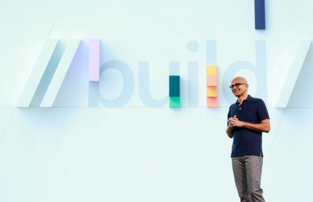 Microsoft Build 2020 digital event keynot