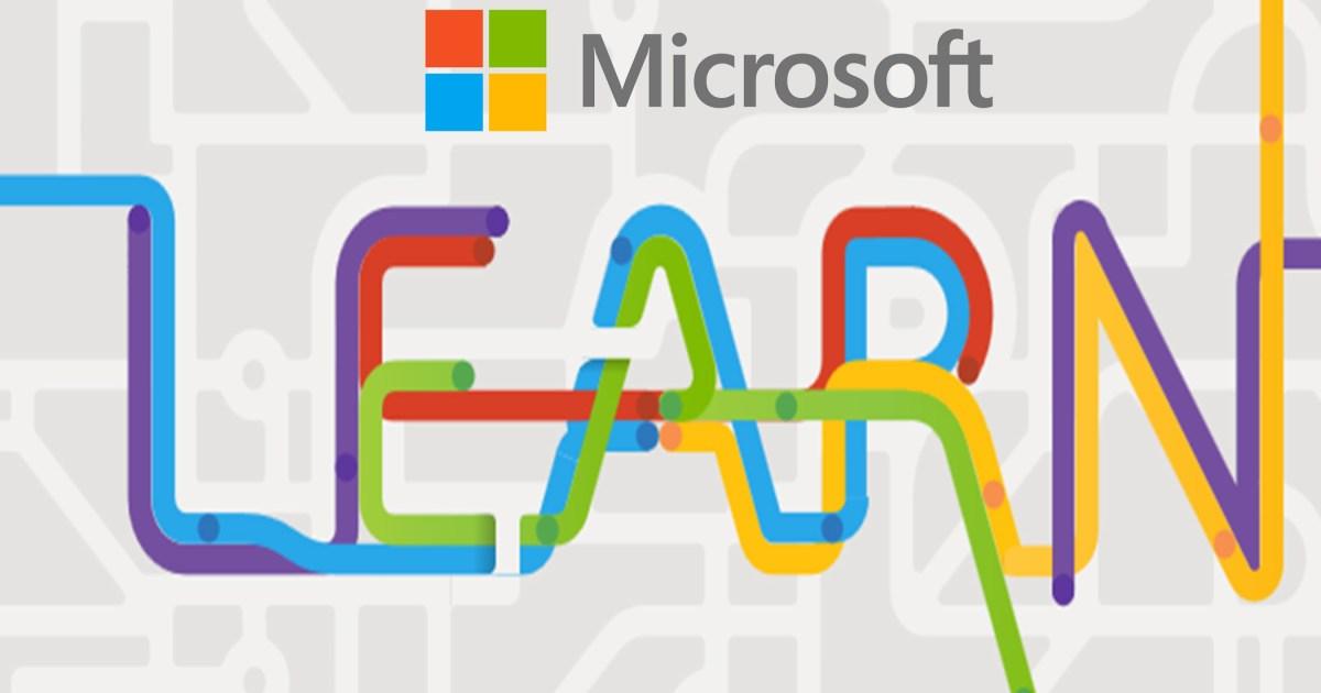 Microsoft Learn homepage