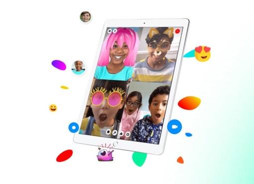 Messenger Kids facebook app Africa