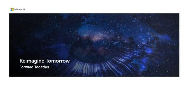 Reimagine Tomorrow virtual summit Microsoft Africa Middle East Covid-19