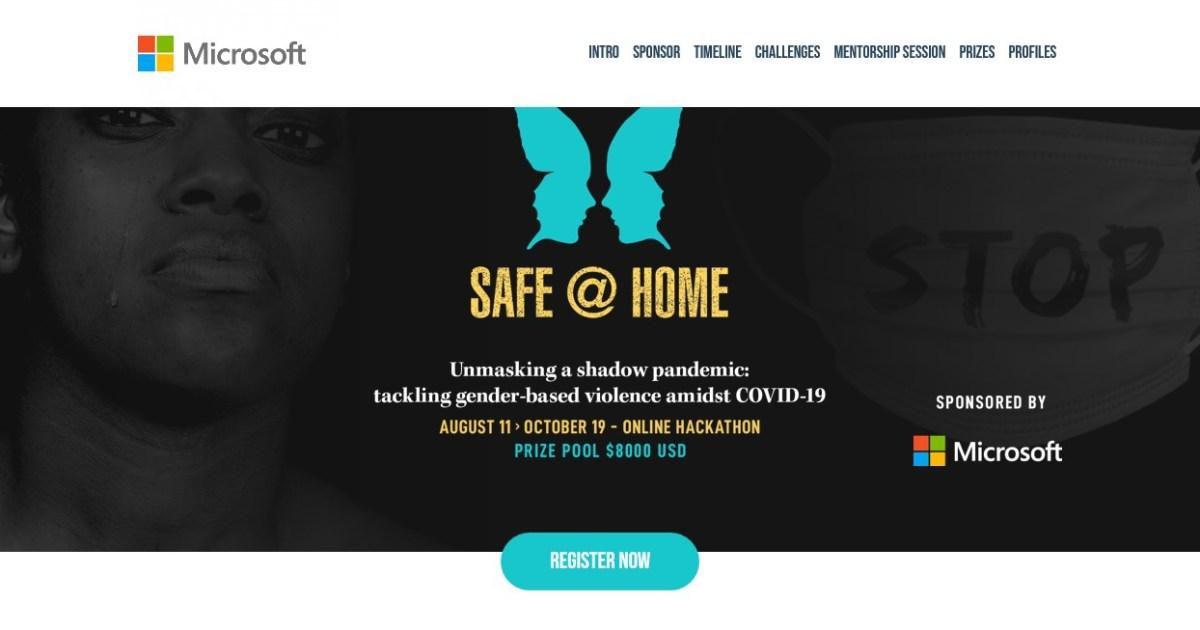 gender-based violence microsoft south africa hackathon