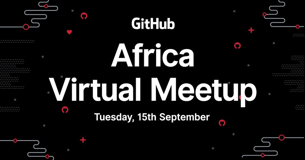 GitHub event Africa developer african