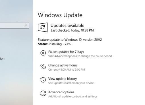 Windows 10 version 20H2 October 2020 Update download