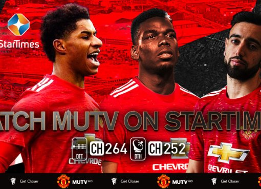 Manchester United fans Africa startimes
