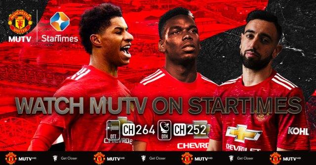 Manchester United fans Africa startimes