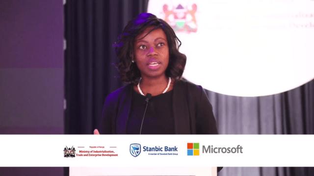 Kendi Nderitu Microsoft Kenya country manager