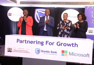 Stanbic Kenya, Microsoft Kenya, digital skills initiative