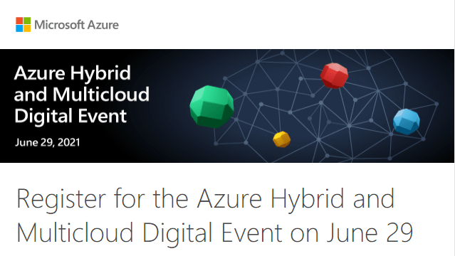 Azure Hybrid and Multicloud Microsoft Intel event