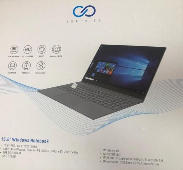 Infinity X50 Laptop
