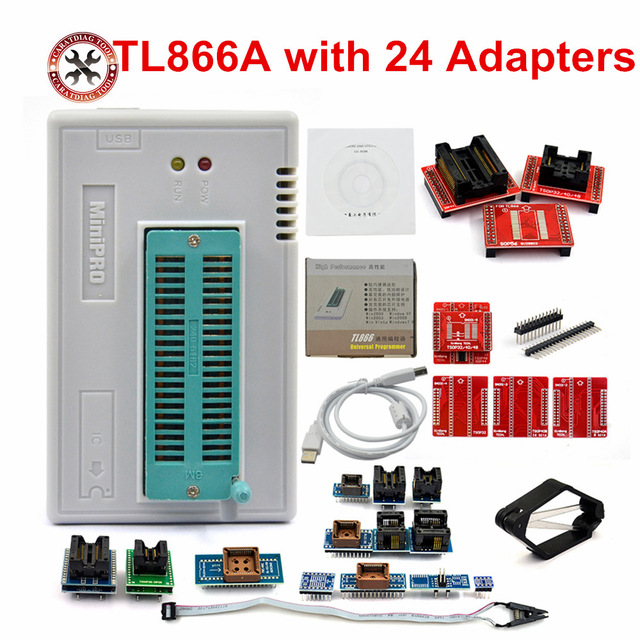 TL866 LL + USB BIOS Universal PROGRAMMER in Lahore Pakista | Microsolution