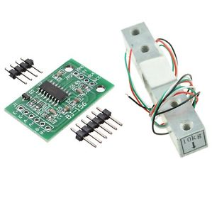 10KG Scale Load Cell Weight Weighing Sensor +HX711 Weighing Sensors AD Module | Pakistan