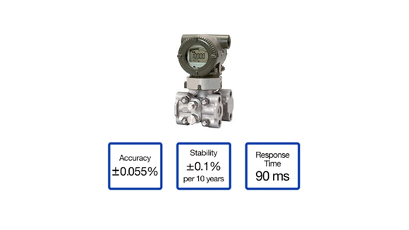 Yokogawa EJA430E Traditional-mount Gauge Pressure