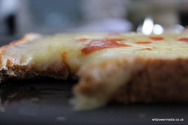 Microwave Cheese on Toast