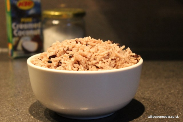 Microwave Rice and Peas