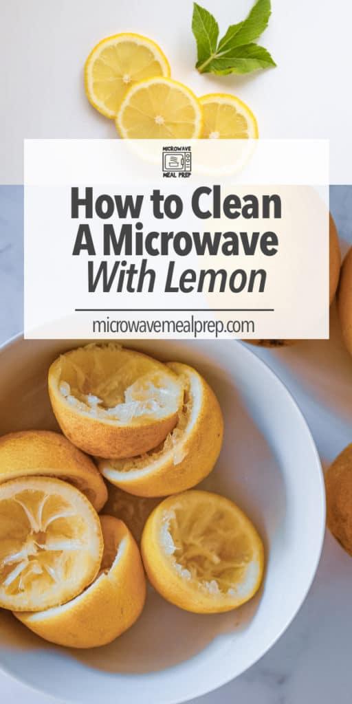 lemon microwave meal prep