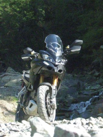 The Ducati MTS 1200S Multistrada
