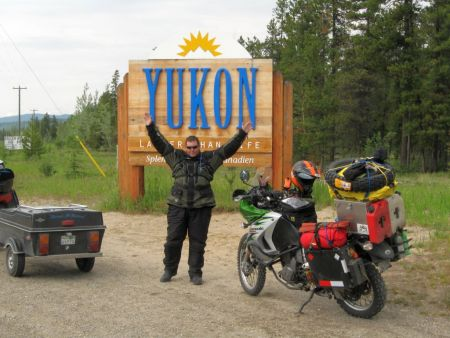The Yukon is THIS BIG!