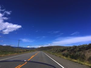 The open road!