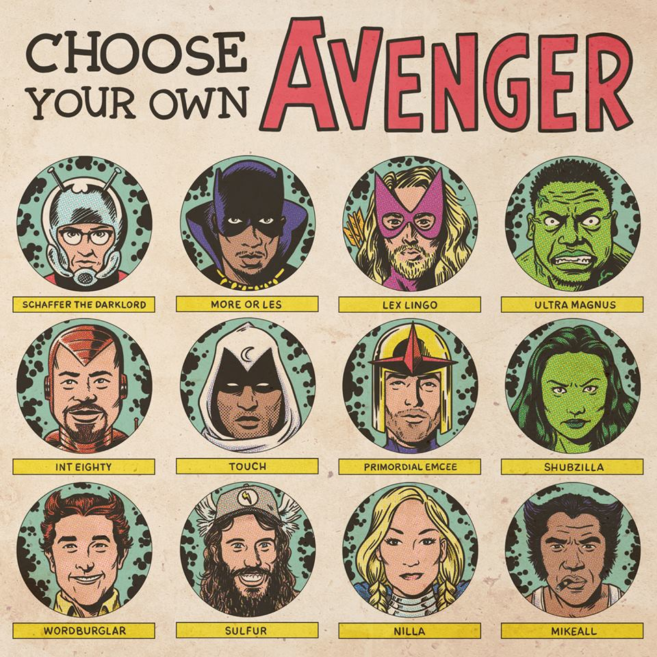 Choose Your Own Avenger