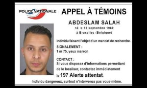 Salah Abdeslam, 26 wanted by French Police