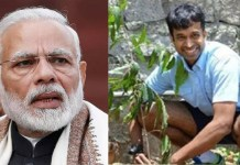 Pullela Gopichand threw out the Prime Minister Modi's Green Challenge