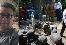 The thief Devotee... has 89 statues at home