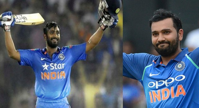 India vs West Indies, 4th One Day.. Rohit Sharma, Ambati Rayudu Tons Power India To 377/5