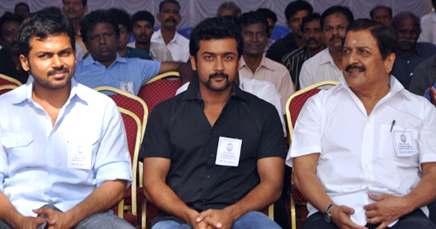 Telugu News Hero Surya And Karthi Donate Rs 50 lakhs For Tamil Nadu Cm Relief Fund