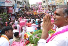 Telugu news trs party siddipet Constituency winner harish rao say heartfelt thank you to his people