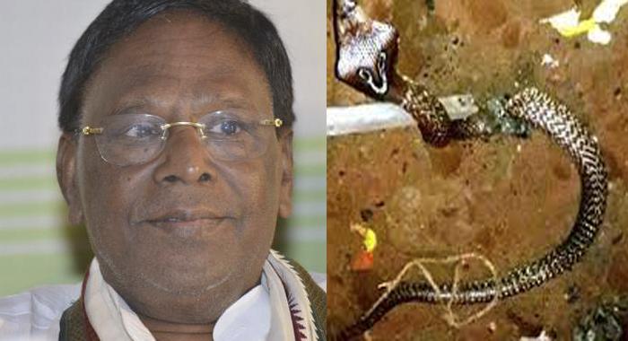 Telugu News puducherry chief minister responds to citizen calls in mid night