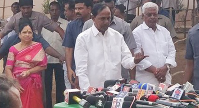 Telugu news CM TRS chief KCR affirms win in Telangana assembly elections with huge majority no doubt on that