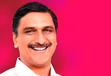 Telugu news Harish Rao is Tossing towards huge lead.