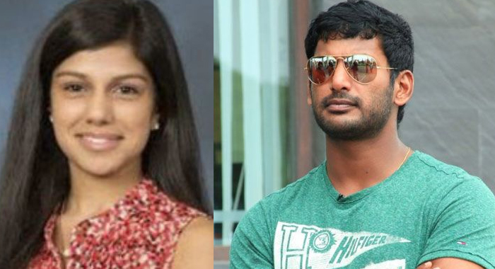 Telugu News south star vishal to marry aneesha from hyderabad