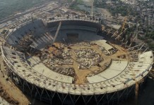 Telugu news Another feather in the cap! Gujarat set to get world's largest cricket stadium soon