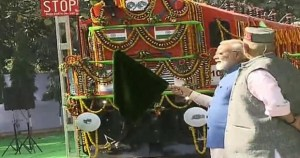 PM Narendra Modi to unveil electric locomotive in Varanasi today.