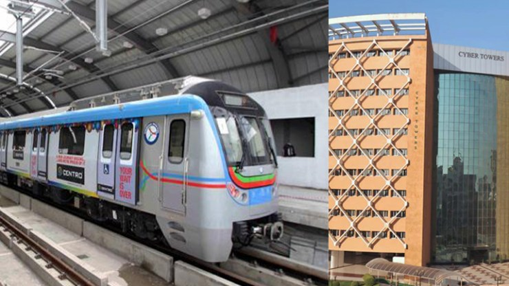 Ameerpet - hitech city metro trains to run from next week