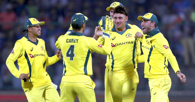 Australia beat India by 35 runs to win fifth ODI and series