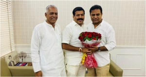 Congress leader kollapur mla harshavardhan reddy to join trs party ..