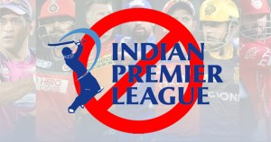 Official IPL Match Coverage Banned in Pakistan.