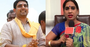 ransgender tamanna simhadri contesting from mangalagiri against lokesh.