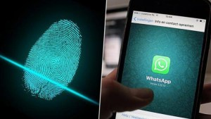 WhatsApp makes mandatory biometric finger print to access network and to take screen shots