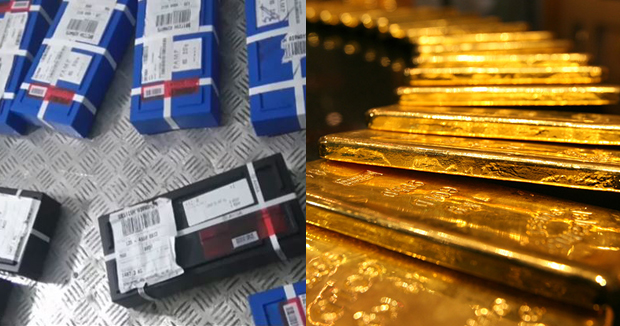 1381 kg gold seized by elections checking squad in Chennai accused and ttd official says it is theirs.