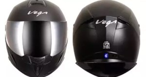 Two-wheeler helmet brand vega launched Bluetooth helmet.