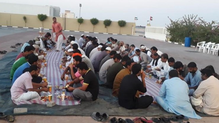 Indian's charity in UAE enters Guinness World Records for holding longest iftar.