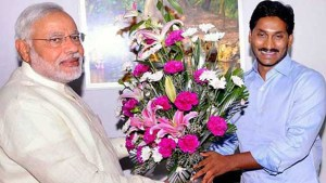 Ysrcp Legislative leader YS Jagan Meeting With Prime Minister Narendra Modi.