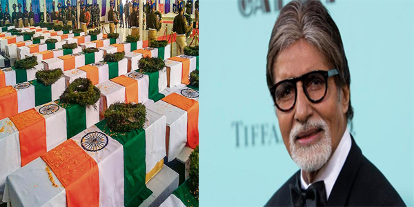 Amitabh Bachchan donates Rs 5 lakh each to kin of 49 Pulwama martyrs