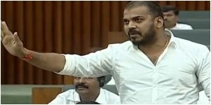 Andhra pradesh minister anil kumar yadav criticized nara lokesh in assembly.