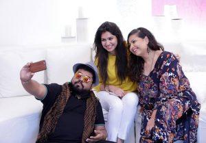 Kalyan, Sahar & Zareen