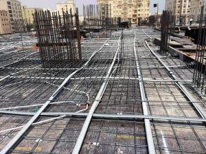TTM post tensioning implemented in Doha, Qatar building development